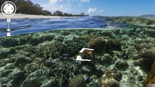 Google Street View extends to Great Barrier Reef