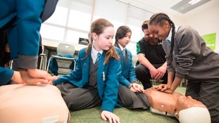 Thousands of young life savers trained in Yorkshire