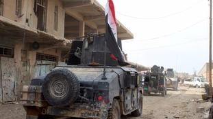 Iraqi counter-terrorism forces in Anbar province