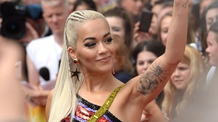Rita Ora leaves the X Factor