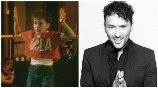 Before he was famous! Reels on Wheels robot dancer revealed as top Welsh actor Richard Mylan