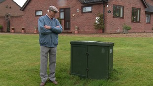 Pensioner accused of blocking plans for faster broadband in his village