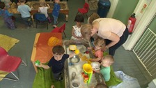 Councillors have voted to close and relocate more than 20 children's centres in Northamptonshire.
