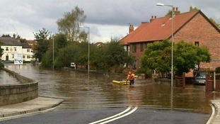FLOODS: Northumberland to North Yorkshire