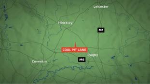Coal Pitt Lane in Warwickshire.
