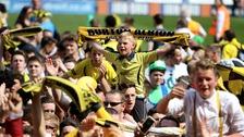Burton Albion fans.
