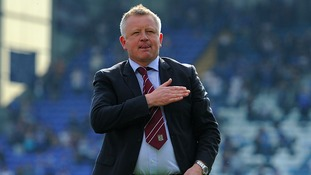 Chris Wilder couldn't agree terms with Charlton.