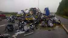 M4 lorry incident