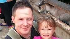 Carl Wheatley pictured with his daughter Alexa-Marie Quinn who he later murdered