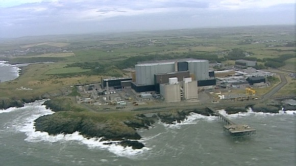 Aerial view of Wylfa