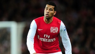 Arsenal's Andre Santos