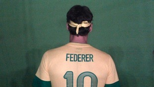 """If I was a football player, what would my nickname be?"" Federer asked his Facebook followers."