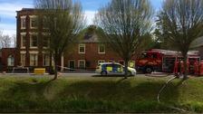 Three adult men died in the blaze.