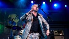 Bob Geldof of The Boomtown Rats.