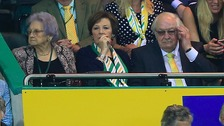 The Norwich City board watch their team get relegated last night.