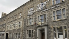 Peter Scott Knitwear in Hawick.