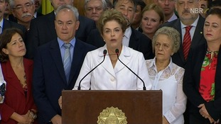 Brazilian President Dilma Rousseff: Impeachment is a 'coup'