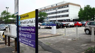 General view of the maternity building at New Cross Hospital in Wolverhampton.