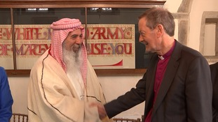 Yazidis and the Church of England have struck a deal