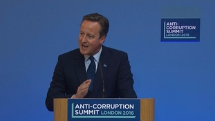 What did the London anti-corruption summit achieve?