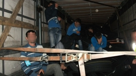 Stowaways in lorry