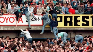 96 people were killed in the Hillsborough Disaster in 1984.