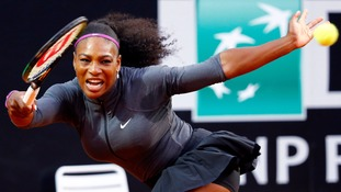 Serena Williams eats dog food then wins match