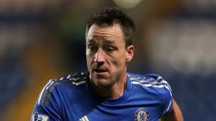 Chelsea football star John Terry