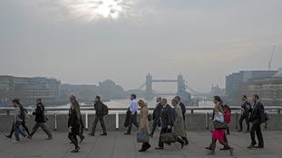 Mayor Sadiq Khan promises to clean up London's toxic air