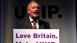 Farage: Neil Hamilton 'too old' for frontline politics