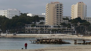 British tourist found dead in Magaluf hotel room