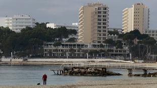 British tourist found dead in Magaluf hotel room