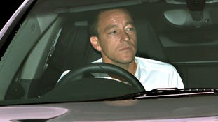 John Terry arriving at Wembley Stadium today