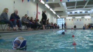 Woman sells home and car to fund public pool opens today