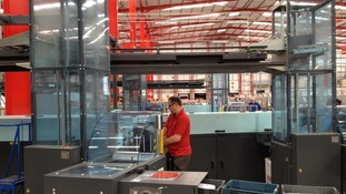 New Royal Mail sorting office