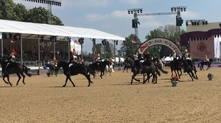 the Royal Windsor Horse Show