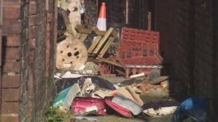 Fly-tipping in Carlisle.