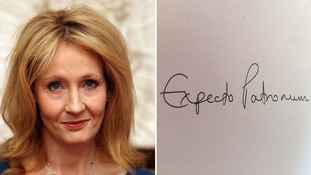 Harry Potter author J. K. Rowling