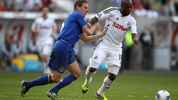 Leroy Lita and Phil Jagielka
