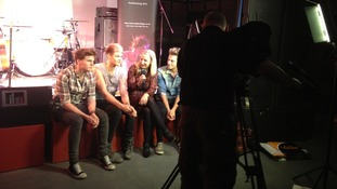 Lawson speak to ITV Tyne Tees