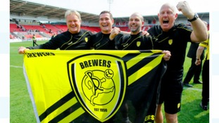 Burton bus tour to celebrate promotion