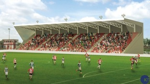 How the new grandstand will look