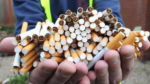 The fake cigarettes are often cheaper but can contain higher levels of toxic chemicals