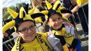 Burton Albion fans