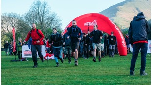 The Challenge gets underway in Grasmere