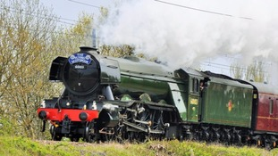 The Scotsman travelling between Newcastle and Durham