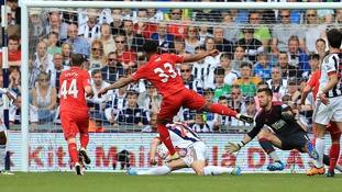 Premier League report: West Brom 1-1 Liverpool