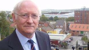 Dr Alan Billings the South Yorkshire Policer and Crime Commissioner