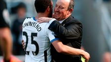 Rafael Benitez embraces Andros Townsend