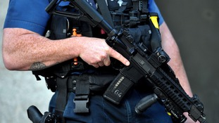Few officers are willing to carry  personal firearms, according to the police federation
